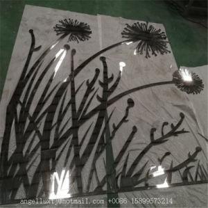 صنع وفقا لطلب الزّبون معدن زهرة جدار فنية ليزر يقطع [ستينلسّ ستيل] فنيات وحرفات