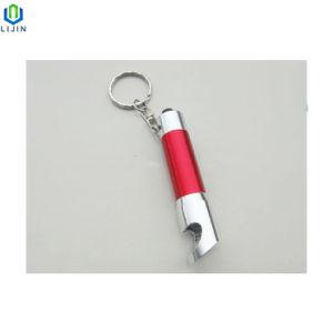 Lanterna LED abridor de garrafa multifunções com a chave de corrente para promoção de publicidade