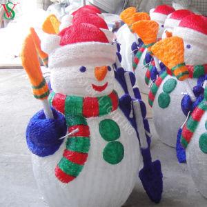 Schneemann-Dekoration-Weihnachtslicht mit dem Cer genehmigt