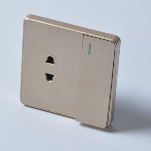 weißer grosser Licht-Energien-Noten-Kontaktbuchse-Wand-Schalter der Tasten-10A
