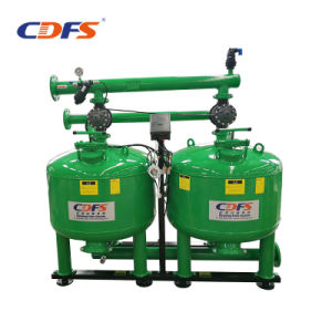 Промышленное оборудование для обработки воды песок перепускного клапана фильтра