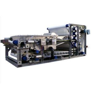 벨트 유형 필터는 산업 폐기물 물 처리를 밀어넣는다