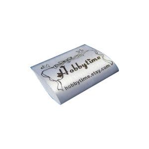 Etiquetas personalizadas de corte láser de Prendas de Vestir Las etiquetas de colgar la ropa de cuello de botella