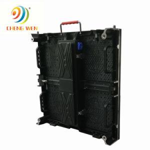 P3.91 500*500mm Affichage LED intérieure pleine couleur avec boîtier en aluminium