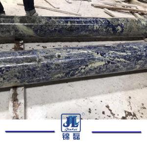 装飾のための高品質の中国の青い大理石の固体柱かコラム