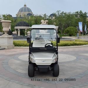 4 Rodas carrinho de golfe eléctrico 4 Lugares 48V 4KW com Box
