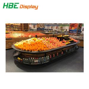 Edelstahl-Gemüse-und Frucht-Bildschirmanzeige-Zahnstange für Verkauf