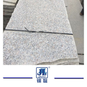 中国の床タイルまたは平板または階段または敷石のタイルまたはプールの周囲の排水または壁のクラッディングまたは庭のための最も安い普及した磨かれたG383真珠の花の花こう岩