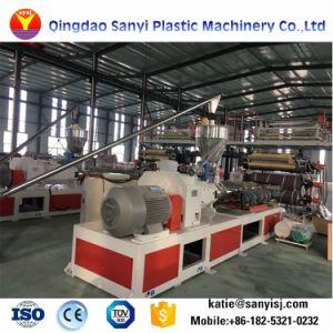 石造りポリマー合成Spc防水フロアーリングか機械を作る床のプラスチック押出機