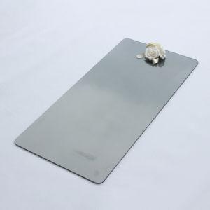 L'impression de soie grise tempéré le verre trempé de la plaque de panneau