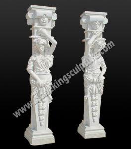 De Marmeren Kolom van de hoogste Kwaliteit voor de Bouw en Decoratie (sk-2476)