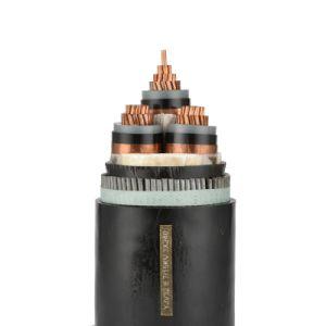1 2 3 4 núcleos de Alta Tensão do Cabo XLPE/Eléctricos Isolados em XLPE Cabo de Alimentação Elétrica