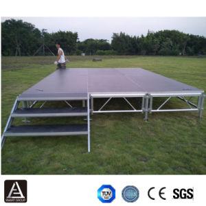 屋外のイベントのためのアルミニウム携帯用適当な段階
