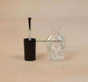Schädel-Form-Nagellack-Flasche mit Pinsel und Schutzkappe anpassen