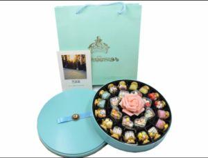 Color azul metálico de Chocolate la fabricación de la caja de regalo