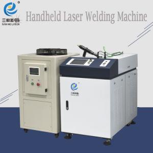 Macchina portatile del saldatore del laser della fibra con il CCD ed il LED