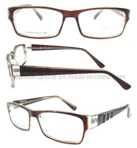 Optische Frames van de Voorraad van het Glas van het Merk van de naam de Klaar (OCP310165)