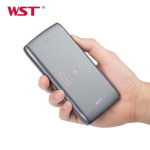 Одновременно зарядки и разрядки 10000 mAh беспроводной портативный внешний аккумулятор для смартфонов
