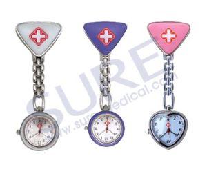 Relógio de enfermagem promocional médica de boa qualidade à prova de água