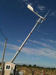 Variables Pitch Blades 10kw Wind Generator