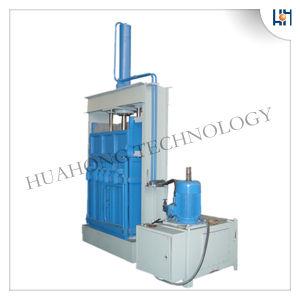 Máquina de enfardadeira vertical de algodão residual