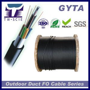 GYTA G652D tubo corrugado de alumínio 8 Core Cabo de Fibra Óptica