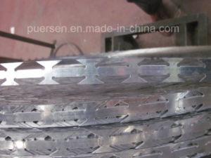 Alta qualità Types di Concertina Razor Wire, Galvanized Razor Wire