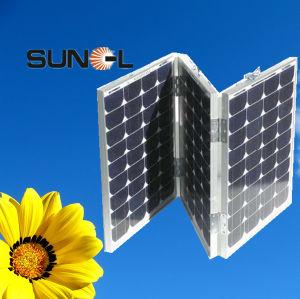 40W*3,120W, 150W, Falte 180W/beweglicher Sonnenkollektor/Modul für das Kampieren, reisend (SNM-M40 (6))
