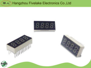 0,3 pouce Quad Digits 7 Segment LED Display (WD03041-A / B)