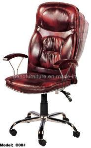 Klassischer hoher rückseitiges Büro-Executivchef-Stuhl C08#