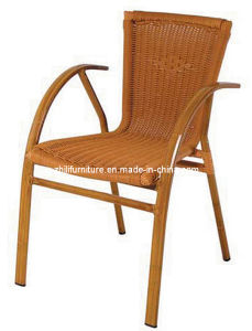 Sedia di vimini del patio, sedia del rattan, sedia di bambù (WT-46)