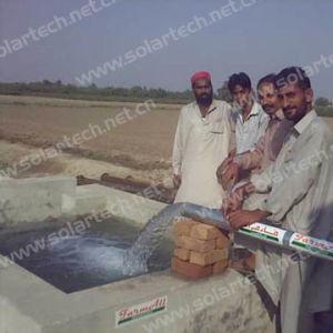 Pompa solare per irrigazione nel Pakistan