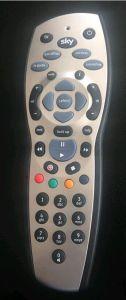 1에서 하늘 Remote Control 텔레비젼 Remote Control 6