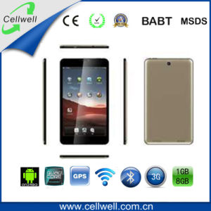 8 polegada 3G meados de Chamada Telefônica Mtk8382 Quad Core tablet Android tablet de ecrã IPS (M840)