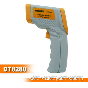 Termómetro infrarrojo -50 a 280c/-58 a 536f