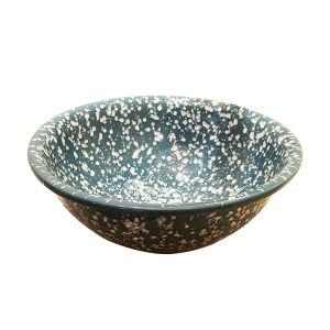 東洋のBlueおよびWhite Porcelain Art Basin/Bowl Basin (C-1151)