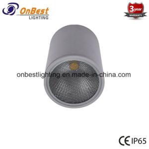 LED de sabugo de alumínio 12W na luz de tecto LED com pente de mel