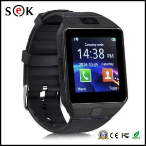 2017 caliente de alta calidad al por mayor Venta de Dz09 Smart Watch Reloj inteligente Dz09 con la tarjeta SIM y la cámara para teléfono móvil