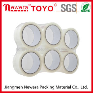 Vlak Ingepakte Plakband BOPP voor de Verpakking van het Karton