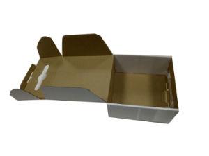 صندوق من الورق المقوّى مقبض بلاستيكيّة يصمّم يعبّئ صندوق مع مقبض مجّانا