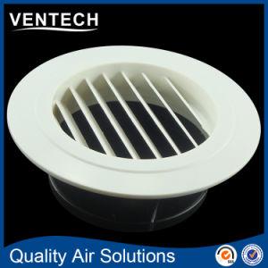 Sistemas HVAC de techo de la ventilación de la válvula de disco de plástico ABS