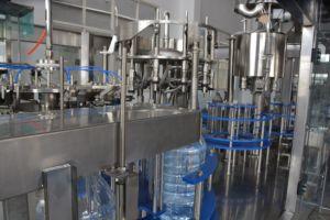 큰 병 3-10L 물 포장 기계장치