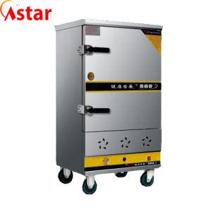 シーフード8の皿のステンレス鋼の炊飯器のための商業台所汽船