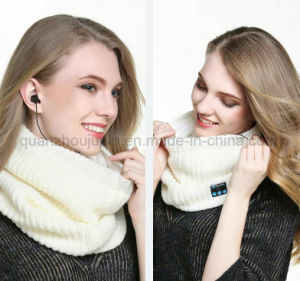 OEM音楽無線Bluetoothのイヤホーンのニットのスカーフ