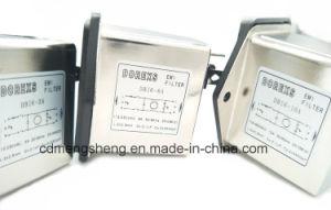 EMI IEC Filtro EMC de energía eléctrica la toma de CA de la línea de EMI Filtro de ruido con el interruptor y el fusible
