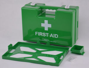 Primeros Auxilios de Plástico ABS con Soporte de Pared