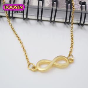 Collana Pendant trasversale su ordinazione della catena a maglia del metallo della collana