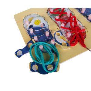 Calços de Madeira Olocação Peg Board Puzzles brinquedos de crianças