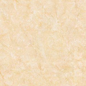 60X60 de gele Verglaasde Glanzende Marmeren Tegel van het Porselein van de Oppervlakte Volledige Opgepoetste voor Vloer
