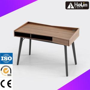 Mesa de Computador em madeira de nogueira de mobiliário de escritório em casa